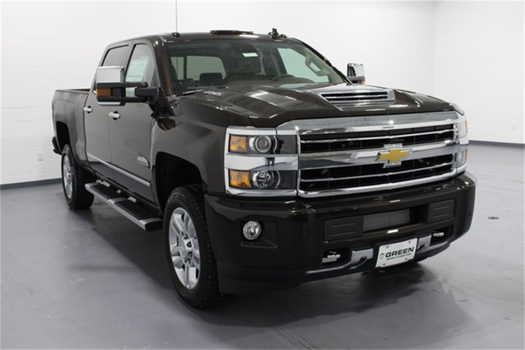 new 2018 chevrolet silverado 2500hd high country 4d crew. Black Bedroom Furniture Sets. Home Design Ideas