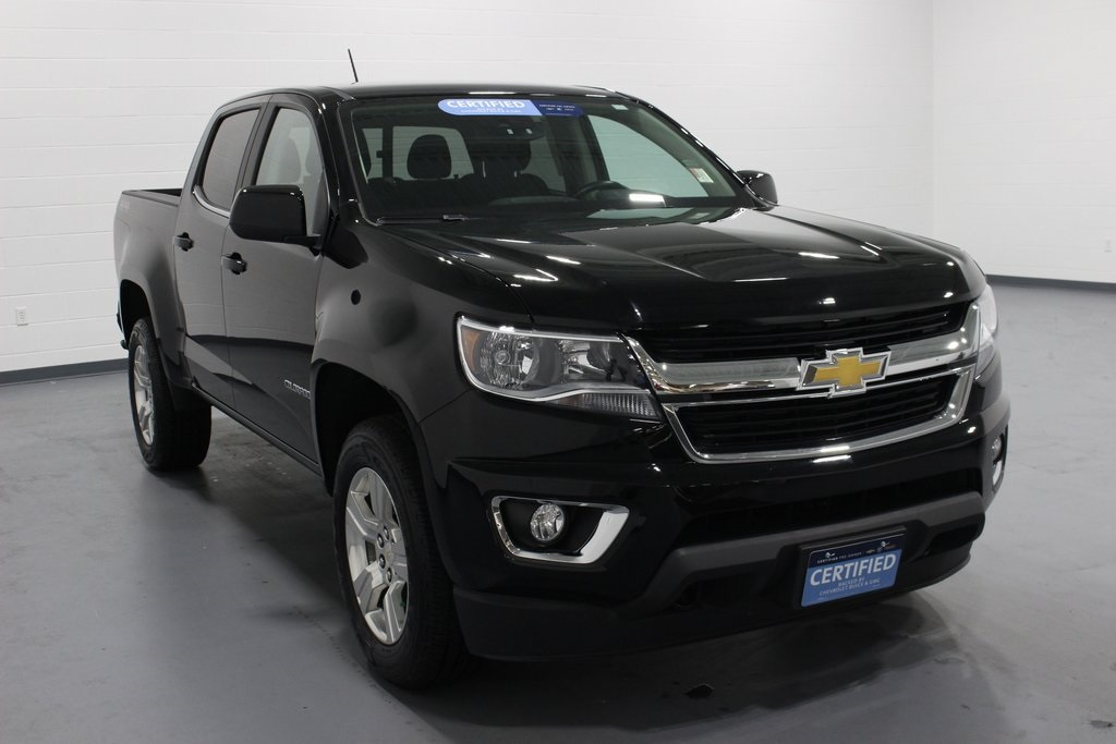 certified pre-owned 2017 chevrolet colorado lt 4d crew cab in quad