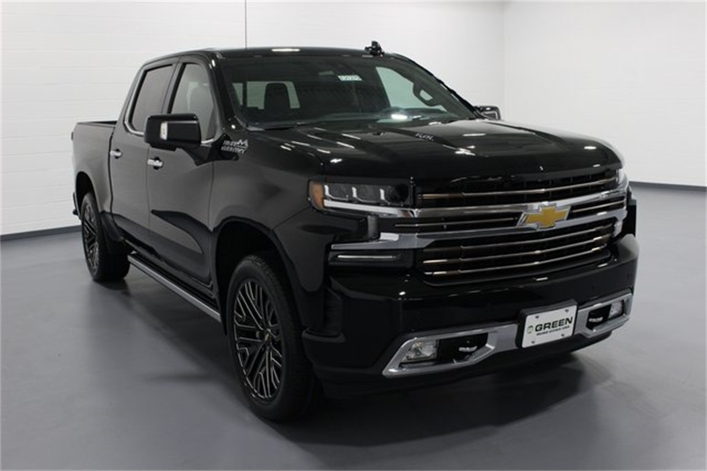 New 2019 Chevrolet Silverado 1500 High Country 4d Crew Cab In Quad