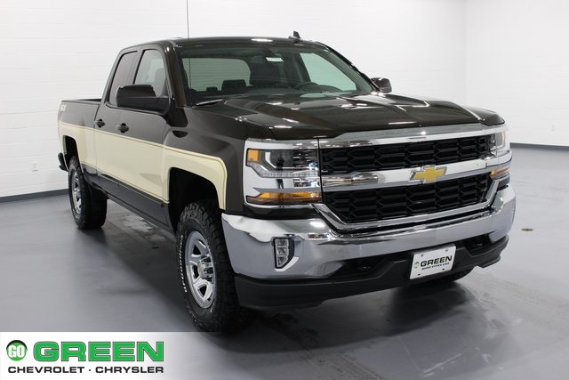 New 2018 Chevrolet Silverado 1500 LT Double Cab in Quad