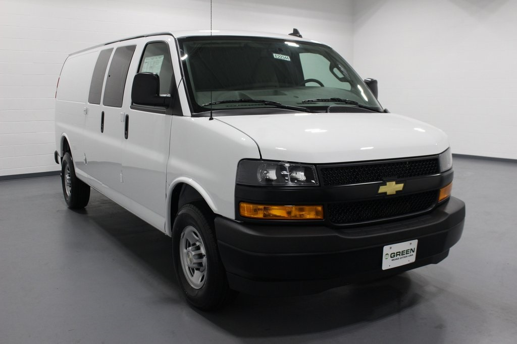 New 2019 Chevrolet Express 3500 Work Van Rwd 3d Cargo Van