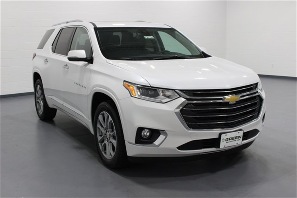 New 2018 Chevrolet Traverse Premier 4d Sport Utility In Quad Cities