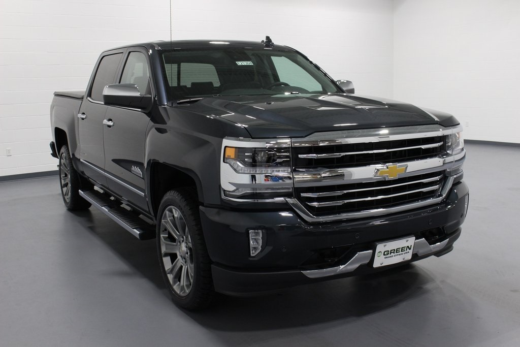 new 2018 chevrolet silverado 1500 high country 4d crew cab. Black Bedroom Furniture Sets. Home Design Ideas