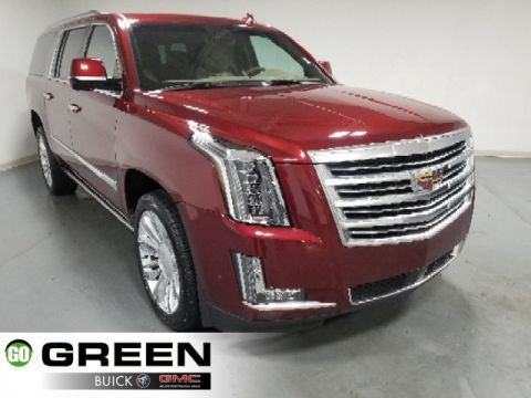 Pre-Owned 2018 Cadillac Escalade ESV Platinum Edition