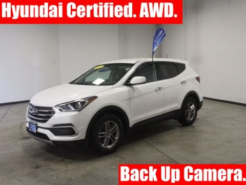 Certified Pre-Owned 2018 Hyundai Santa Fe Sport 2.4 Base